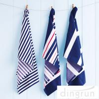 Wholesale OEM Full Print Kitchen Tea Towels , 100 Cotton Kitchen Dish Cloths 25*50cm from china suppliers