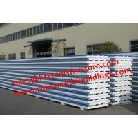 Quality Chinese Design EPS Sandwich Panels For Walk In Cold Room 1150 Width for sale