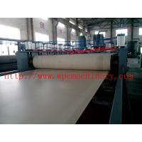 Wholesale thick solid wpc foamed door board making machine , ticker door board machinery , wpc door board line from china suppliers