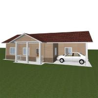 Wholesale Promotion Wind - proof 3 Bedroom Modular Homes Prefabricated Mobile House For Living from china suppliers