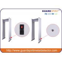 Wholesale Fashion Walk Through Metal Detector Gate , Deep Search Multi Zone Metal Detector from china suppliers