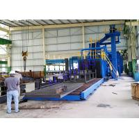 Wholesale Industrial Electricity Auto Wheel Blast Machine For Profile Steel Strengthen from china suppliers