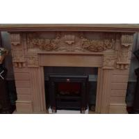 Wholesale Buliding decoration marble and granite stone Fireplace statue from china suppliers