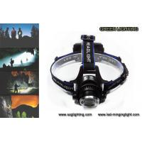 Wholesale 1000lumen CREE XML T6 LED rechargeable headlamp with adjustable lighting spot from china suppliers