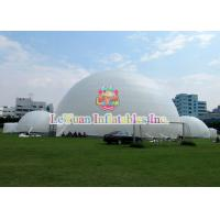 Wholesale Giant White Inflatable Party Tent With Strong PVC Tarpaulin Material from china suppliers