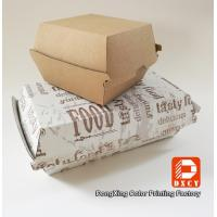 Wholesale Grease Proof Recycled Fast Food Packaging Foldable With Offset Printing from china suppliers