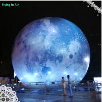 Wholesale Outdoor Decorative Inflatable Moon with Light for Party and Concert from china suppliers