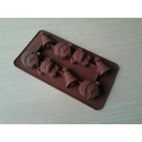 Buy cheap Christmas Non-stick Silicone Chocolate Mould ,Durable Flexible Silicon Bakeware from wholesalers