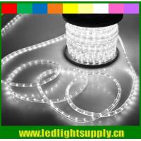 Wholesale Topsung flat rope light 1/2'' 2 wire led duralight 12v/24v low voltage from china suppliers