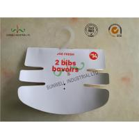 Wholesale Baby Clothing Hang Tags 350G Paper Hanger Card With 2 Color Printing from china suppliers
