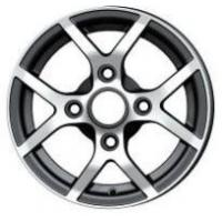 Wholesale Full Painted 4 Hole 12 Inch Automobile Chrome Alloy Wheel / Wheels from china suppliers