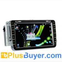Wholesale Knight Rider - 8 Inch Android 2.3 Car DVD Player for Volkswagen (2 DIN, 3G + WiFi, GPS) from china suppliers