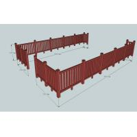 Wholesale Environmental WPC Construction Railing For Sunshade & Decoration from china suppliers