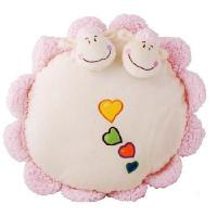 Wholesale dimensional the sheep circular pillow / cushion from china suppliers