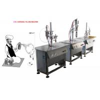 Wholesale Aerosol Spray Filling System For Police Spray 5000-8000cans/Shift from china suppliers