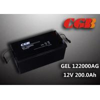 Wholesale Reliable safe 200AH GEL Series 12V Lead Acid Battery Rechargeable No leaking from china suppliers