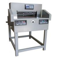 Buy cheap 550 mm Paper Guillotine/Programmable Guillotine Machine/Automatic Paper Guillotine from wholesalers