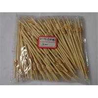 Wholesale Wholesale-free shipping Pattern beads fruit fork fruit toothpicks barbecue Toothpick bamboo cocktail fork fruit Tooth Pi from china suppliers