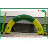 Wholesale PVC / Oxford Cloth Inflatable Arch With Custom Printing For Holiday from china suppliers