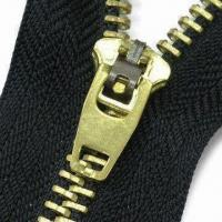 Wholesale Zipper with Slider, Customized Lengths and Specifications are Accepted, Made of Metal from china suppliers
