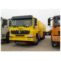Wholesale 290hp HOWO Oil Tank Truck  20 CBM fuel tanker with 6x4 drive chassis right hand drive optional from china suppliers