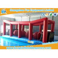 Wholesale Extreme Big Baller Inflatable Obstacle Course Blow Up Big Ball Run 10*4m from china suppliers