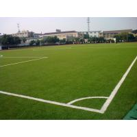 Wholesale Eco-Friendly Football Artificial Grass Lawn 25mm , 9000dtex Green PE from china suppliers
