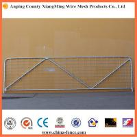 Buy cheap China galvanized farm gate ranch gates livestock gates metal farm gates from wholesalers
