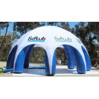 Quality Outdoor Advertising Inflatable Tent , Inflatable Spider Dome Tent with Legs for sale