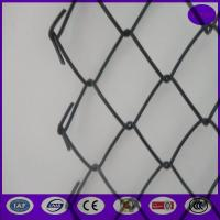 Wholesale China sgs  quality 5*5cm PVC Coating Security Chainwire Fencing for Construction Site from china suppliers