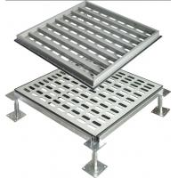 Quality Adjustable Perforated Raised Floor working with air regulator for sale