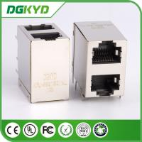 Wholesale KRJ -5921S21NL shielded rj45 connector , 8 pin modular jack  2x1 Offset Stack Jack from china suppliers