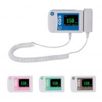 Wholesale Three color available digital fetal doppler ultrasound equipment baby heart rate monitor from china suppliers