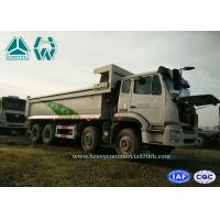 Quality 8 X 4 Open Pit Mining Dump Truck 380 Hp Heavy Duty 7.8 Meters With 50km/H Speed for sale