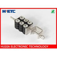 """Wholesale Telecom Tool Through Core Six Hole Coaxial Cable Clamps , 7/8"""" Coaxial Cable Loop Clamp from china suppliers"""