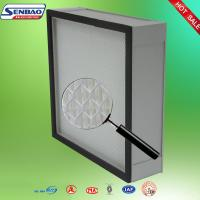 Wholesale Fiberglass 0.3 Micron Hepa Air Conditioning Filters For Clean Room from china suppliers