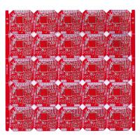 Wholesale Custom FR-4 Red Solder Mask Double Side PCB Board 4 Layers Fabrication from china suppliers
