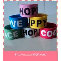 Wholesale Custom Promotional Funny Slap Bracelets from china suppliers