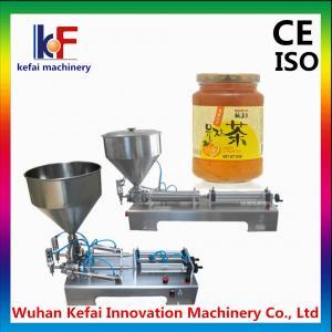 China Semi automatic horizontal filling machine for sale on sale