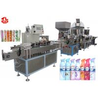 Wholesale Automatic Shaving Foam Aerosol Packaging Machine Filling Line High Efficiency from china suppliers