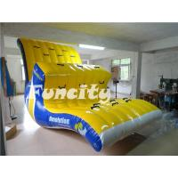 Wholesale 0.9MM Thickness PVC Tarpaulin inflatable revolution Used in the sea and water toys from china suppliers