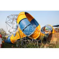 Wholesale Big Fiberglass Water Slides Family Water Park Aqua Park Amusement from china suppliers