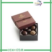 Wholesale Elegant Cardboard Chocolate Gift Boxes / Chocolate Box Packaging With Blister from china suppliers