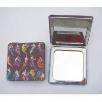 Wholesale Leather pocket mirror,  mirror with leather cover from china suppliers