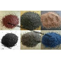 Wholesale Sea Blue / Light Yellow / Dark Roof Granules , Ceramic Colorful Granule from china suppliers