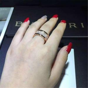 Wholesale Bulgari B.zero1  series  ring 18k white gold yellow gold rose gold diamond ring from china suppliers