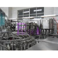 Wholesale 32 Heads 8000 Bottles / Hour Soft Drink Filing Line For PET Bottle from china suppliers