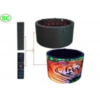 Wholesale Soft Full Color RGB Stage LED Screens , Rolling flexible led screen panel 3G WIFI Control from china suppliers
