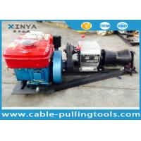 Wholesale Tower Erection Tools 1 Ton Wire Rope Cable Pulling Winch Portable Diesel Hoist Winch from china suppliers