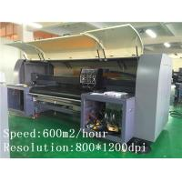 Wholesale Cotton / Silk / Poly Fabric Digital Printer Kyocera Head With High Resolution from china suppliers